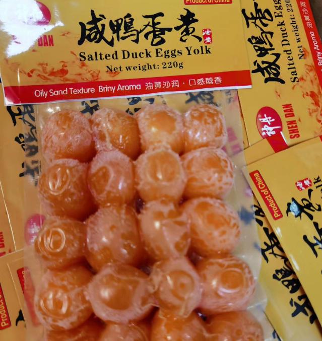 SD Salted Eggs Yolk 220g