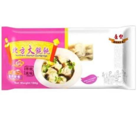 康乐北方大馄饨-猪肉鲜虾 HR Beijing Wonton - Pork with Prawns 180g