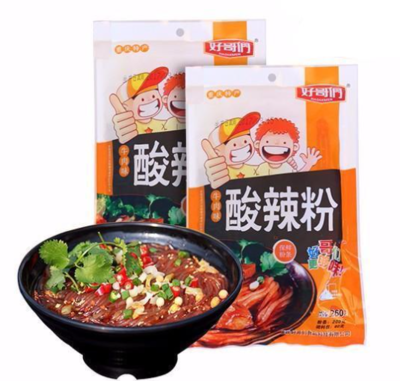 HGM Instant sweet potato noodles -Beef 260g