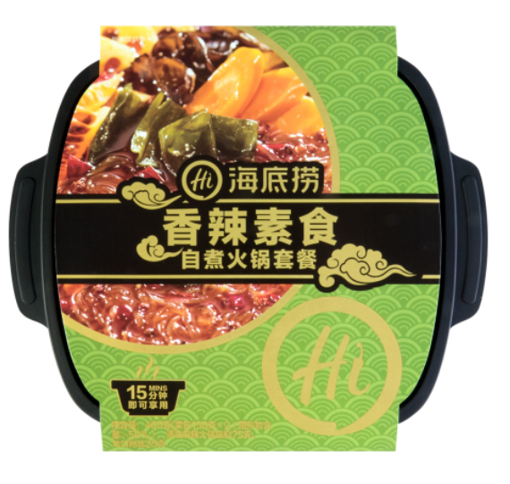 HDL Self-heating - Spicy Vege 400g