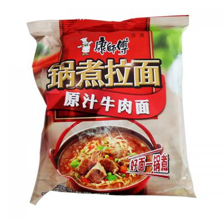 Master Kong Instant Noodles - Artificial Beef 120g