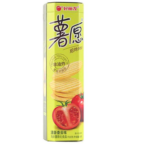 HLY Crisps - Tomato 104g