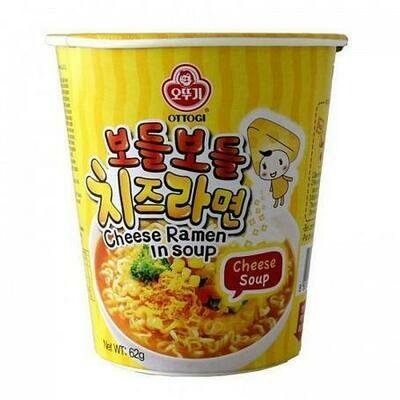 Ottogi Cheese Ramen Cup Noodle 62g