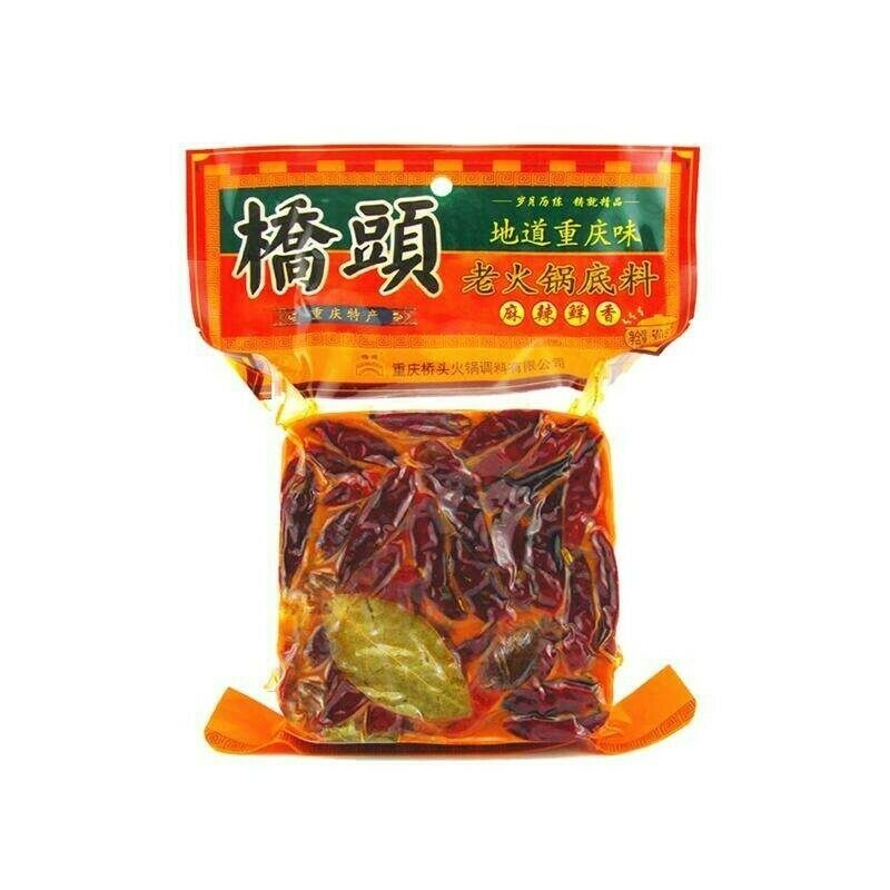 桥头牛油老火锅底料(小)袋 QT Chongqing Hotpot Base Spicy 280g