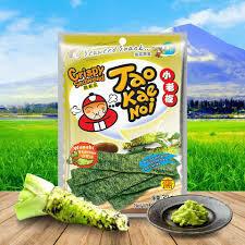 小老板脆紫菜芥末味 Taokaenoi Crispy Seaweed Snacks Wasabi 32g