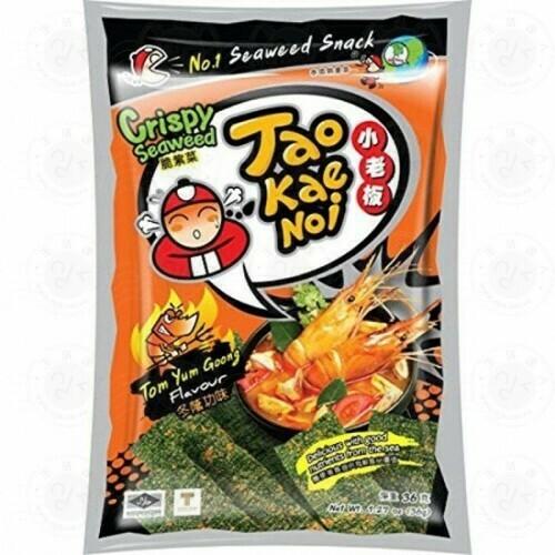 Taokaenoi Crispy Seaweed Snacks TomYum 32g