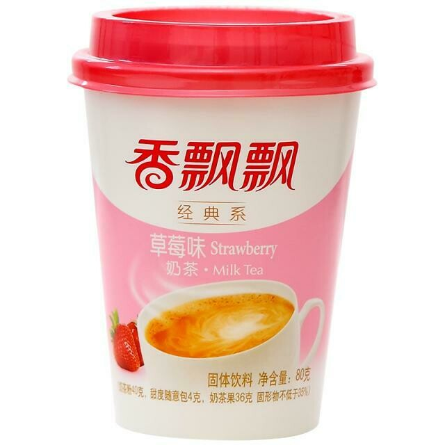 香飘飘奶茶草莓味 XPP Milk Tea Strawberry 80g