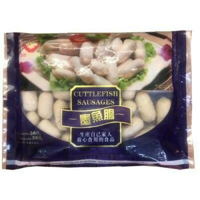 Authentic Squid Sausages 360g
