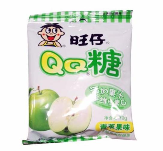 WW QQ Gummies - Green Apple 70g