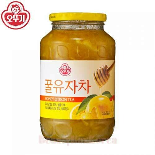不倒翁蜂蜜柚子茶 Ottogi Honey Citron Tea 500g