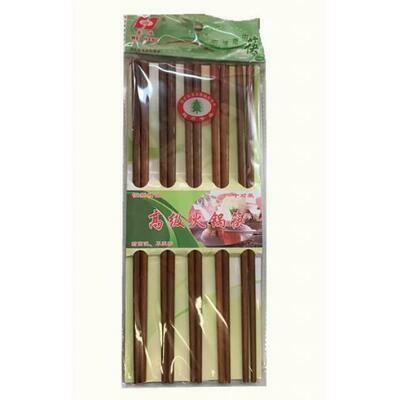 10 Pairs of Wooden Hotpot Chopsticks