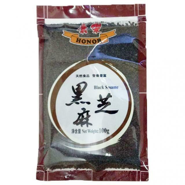 康乐黑芝麻 Honor Black Sesame Seeds 100g