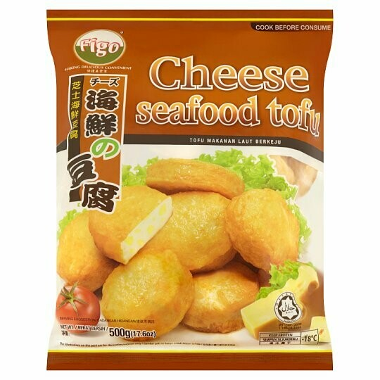 Figo Cheese Fish Tofu 500g