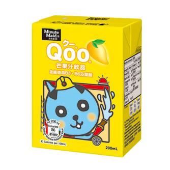 Minute Maid Qoo Mango Juice 6 x 250ml