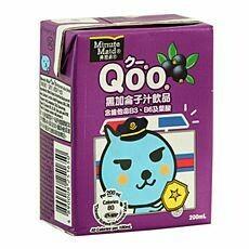 Minute Maid Qoo Blackcurrant Juice 6 x 250ml