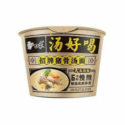 Baixiang Bowl Noodle Prork Ribs Flavor 108g