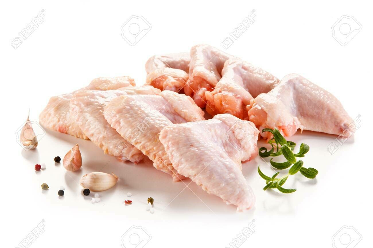 Fresh Raw Chicken Wings 1Kg
