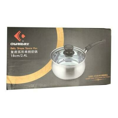 Charms Stainless Steel Source Pan 18cm (2.4L)