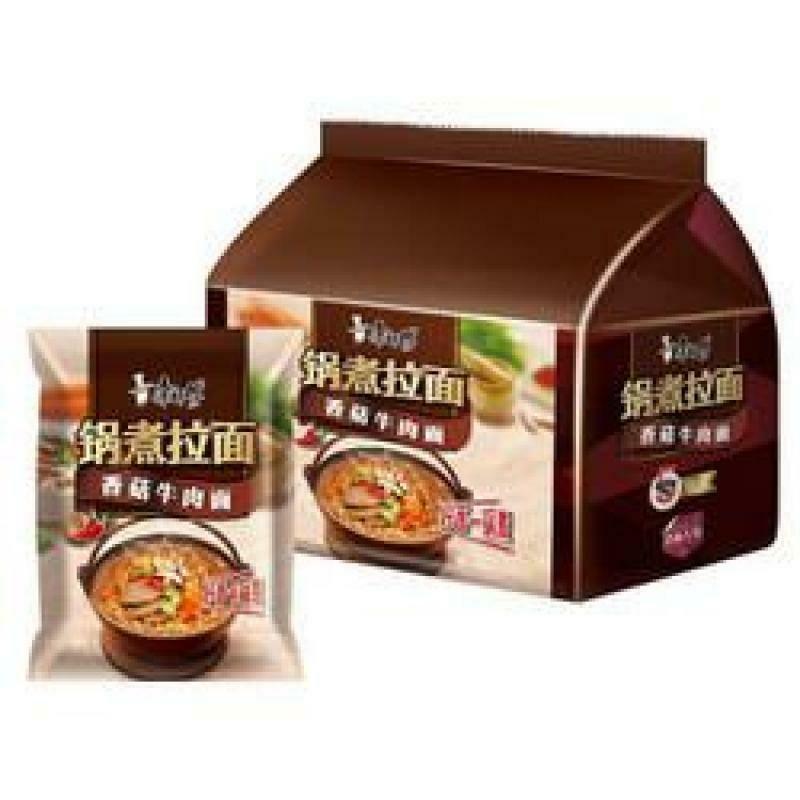 Master Kong Instant Noodles - Artificial Beef & Mushroom 5x129g
