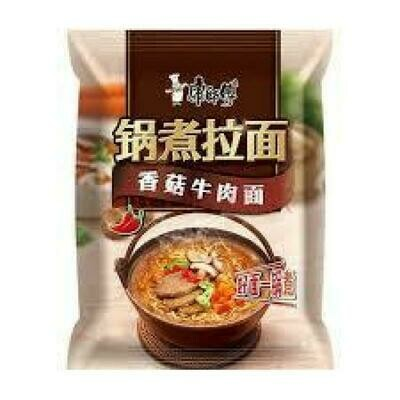 Master Kong Instant Noodles - Artificial Beef & Mushroom129g