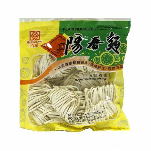 Six Fortune Plain Noodle 340g