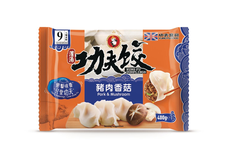Kung Fu Pork & Mushrooms 410g