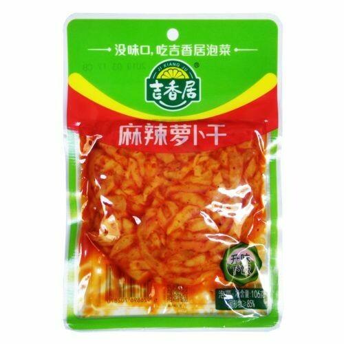 JXJ Spicy Dried Turnip 106g