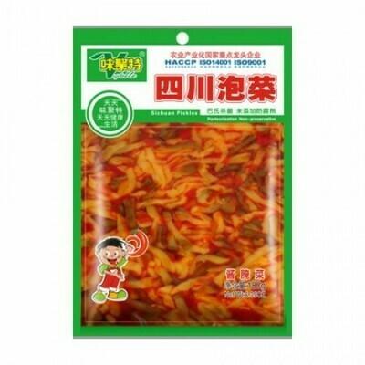 WJT Sichuan Pickles 180g