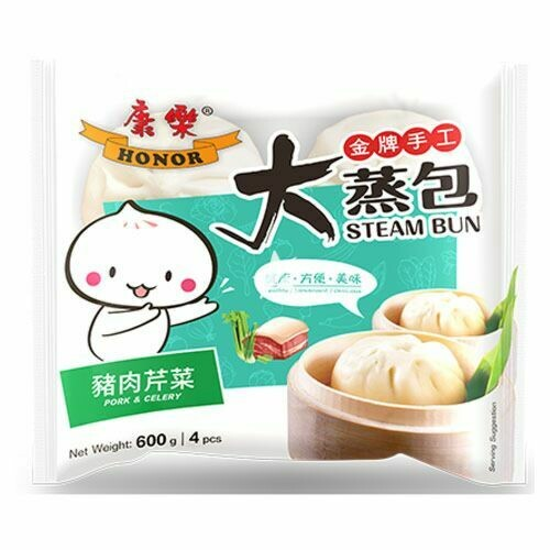 Honor Pork & Celery Buns 600g