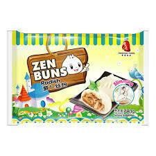Fresh Asia Radish Buns 480g