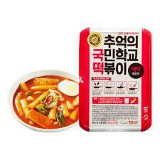 SJ Food Rice Cake with Sauce 600g