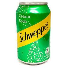 Schweppes Cream Soda - 330ml