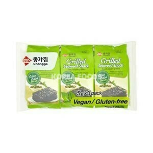Chongga Grilled Seaweed Snack (5g x 3)