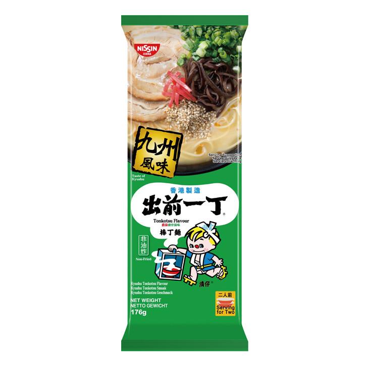 Nissin Demae Ramen Bar Noodle - Kyushu Tonkotsu 174g
