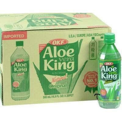 OKF Aloe Vera King Original 500ml x 20