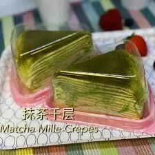 Matcha Mille Crepe (1 pc)