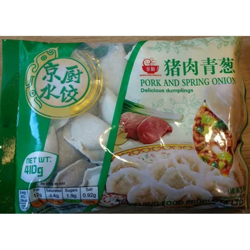 Beijing Food Pork And Spring Onion Dumpling 410g