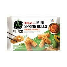 Bibigo Korean Mini Spring Rolls Kimchi Flavour 280g
