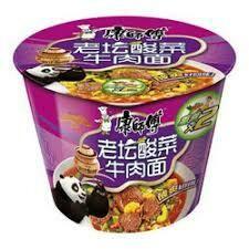 Master Kong Pickled Beef Noodle Bowl 122g