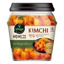 CJ Sliced Radish Kimchi 480g