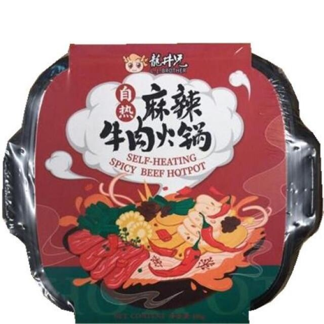 L.J.Brother  Self Heating Hot Pot - Spicy Beef 480g