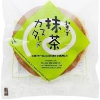 Dorayaki Green Tea & Custard 75g