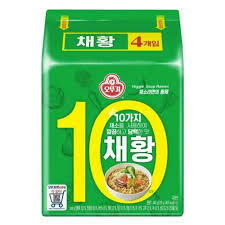 Ottogi Veggie Soup Ramen 110g x 4 Packs