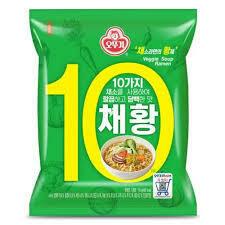 Ottogi Veggie Soup Ramen 110g
