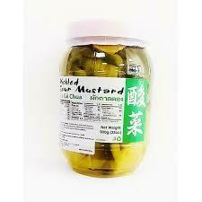 Thai Boy Pickled Sour Mustard 900g