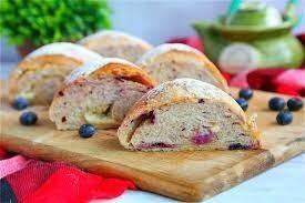 Creamy Cheese Bread Blueberry Flavor
