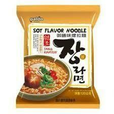 Paldo Soy Flavour Noodle 120g