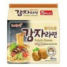 Samyang Potato Ramen 5 packs