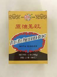 FR Salted Black Bean & Ginger 500g