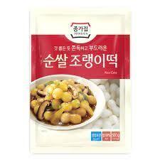 Chongga Rice Cake (Joraengyi) 500g